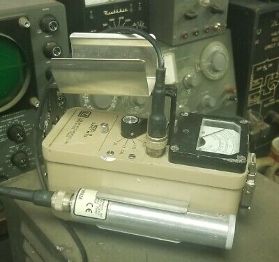 Ludlum Model 3 Survey Meter Giger Counter With 44-38 Probe
