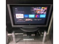"LG 42"" Plasma TV and Extras"