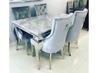 Asmara 160cm dining table set including chairs