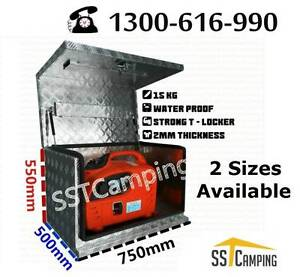 L750*W500*H550 Aluminium Generator SST Camping Toolbox! Clayton Monash Area Preview
