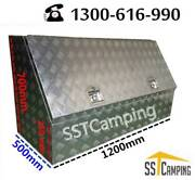 L1200*W500*H700 3/4 Side Opening Heavy Duty SST Camping Toolbox Melbourne CBD Melbourne City Preview