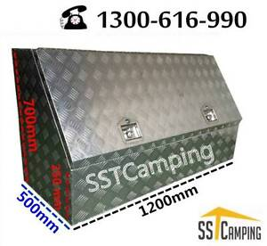 L1200*W500*H700 3/4 Side Opening Heavy Duty SST Camping Toolbox! Clayton Monash Area Preview