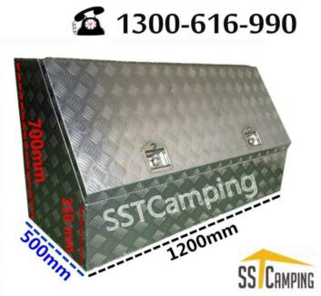 L1200*W500*H700 3/4 Side Opening Heavy Duty SST Camping Toolbox