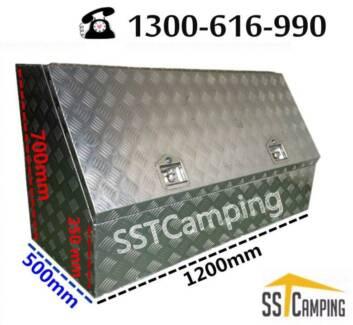 L1200*W500*H700 3/4 Side Opening Heavy Duty SST Camping Toolbox