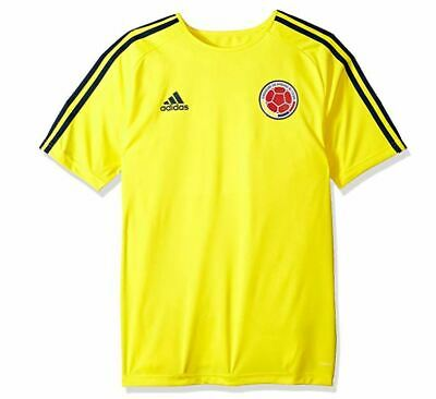 c549a392d New Adidas 2018 Soccer World Cup Colombia Home Short Sleeve Jersey Medium  BR3499