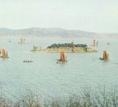 Lake Taihu From The Three Hills Yangtze Delta Wuxi Sanshan Isles China Postcard