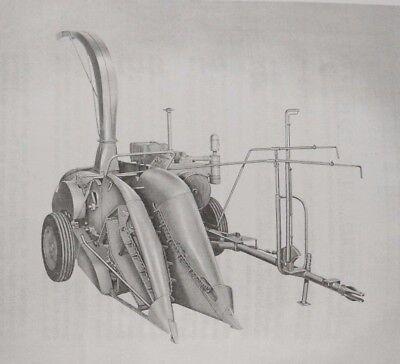 Ford Dearborn Forage Harvester Silage Chopper Owners Manual 8n 2n 9n