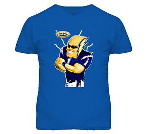 San Diego Chargers Football Boltman Mascot Sport Fun T