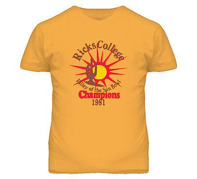 Napoleon Dynamite Movie Ricks College Comedy Movie T Shirt