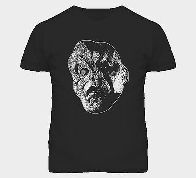 Victor Crowley Horror Scary Hatchet Halloween Face Costume Graphic T Shirt (Hatchet Face Halloween)