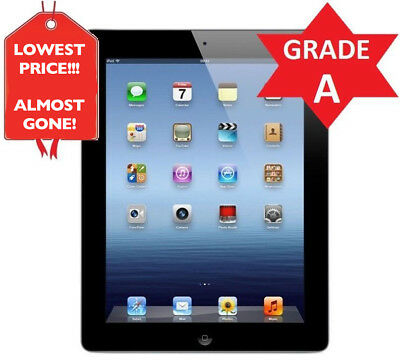 *LOWEST PRICE* Apple iPad 2 WiFi Tablet | Black | 16GB | GRADE A CONDITION (R)