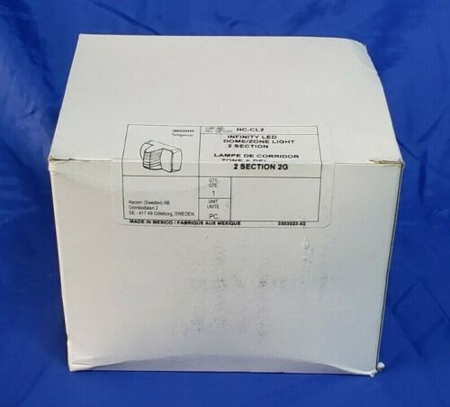 ***NEW HC-CL2 Telligence 2 Section Corridor Dome Light UNOPENED***