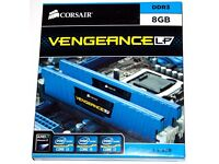 8GB Corsair Vengeance Low Profile (2x4GB) DDR3 1600 Mhz CL9 XMP Performance