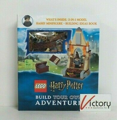 NEW Lego Harry Potter Build Your Own Adventure | 101 Pc-1 Minifigure-Build Book  comprar usado  Enviando para Brazil