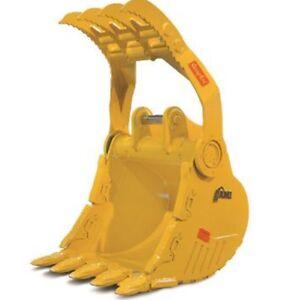 Excavator thumb bucket