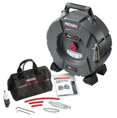 Ridgid 64273 K9-204 Flexshaft Drain Cleaning Machine 2 To 4 Pipes