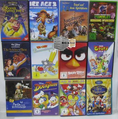 Kinderfilme - je 1 DVD / Bundle auswählen -Trickfilm Zeichentrick Sammlung #2 Kinder Filme