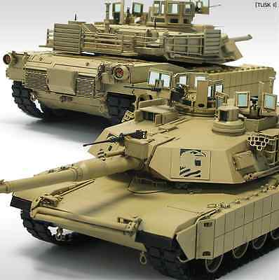 """1/35 M1A2 ABRAMS """"TUSK II""""  / ACADEMY MODEL KIT / #13298 for sale  Shipping to Canada"""