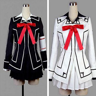 Hot Vampire Knight Cosplay Costume New Yuki Cross White or Black Womens Dress YE - Hot Vampire Woman