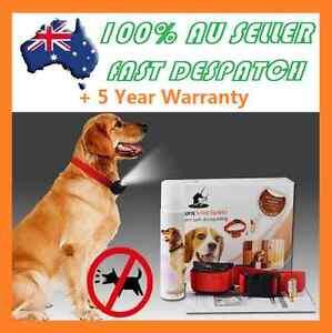 Automatic Citronella Anti Bark Spray Collar Stop Dog Training Barking WATERPROOF