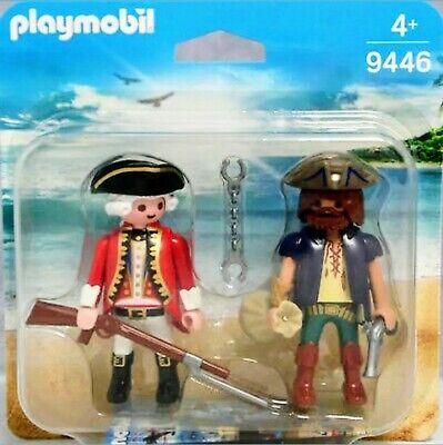 Blister 9446 Duo Pack Pirata/Soldado Inglés Barco Caballeros History Knights Med