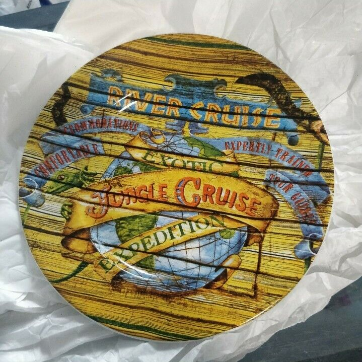 Disney Jungle Cruise Attraction Plate