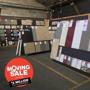 Massive TILE Clearance Moving Sale