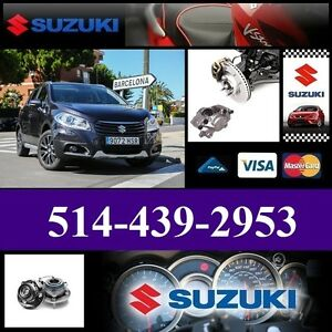 Suzuki SX4 ■ Roulements, Étriers ► Bearings, Calipers