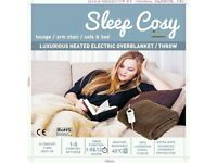 Sleepcosy Electric Throw Blanket