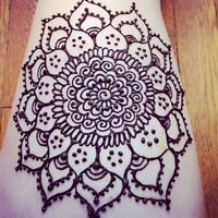 Henna designs in Sherwood Park