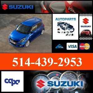 Suzuki Swift ■ Fenders and Bumpers ► Ailes et Pare-chocs