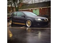 Mk5 golf gt tdi on air suspension