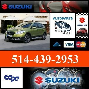 Suzuki SX4 ► Ailes et Pare-chocs • Fenders and Bumpers