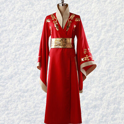Game of Thrones Cersei Lannister Cosplay costume Kostüm Uniform Rot Red Kleid