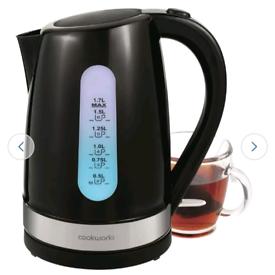 Cookworks cordless illuminated kettle