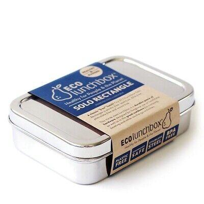 EcoLunchbox rechteckige Brotdose aus Edelstahl