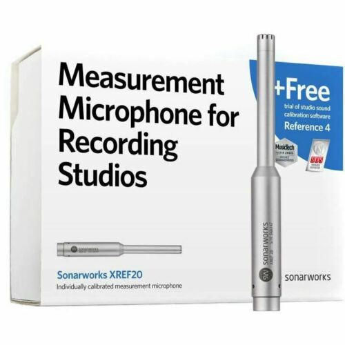 sonarworks xref20 measurement microphone for recording studi