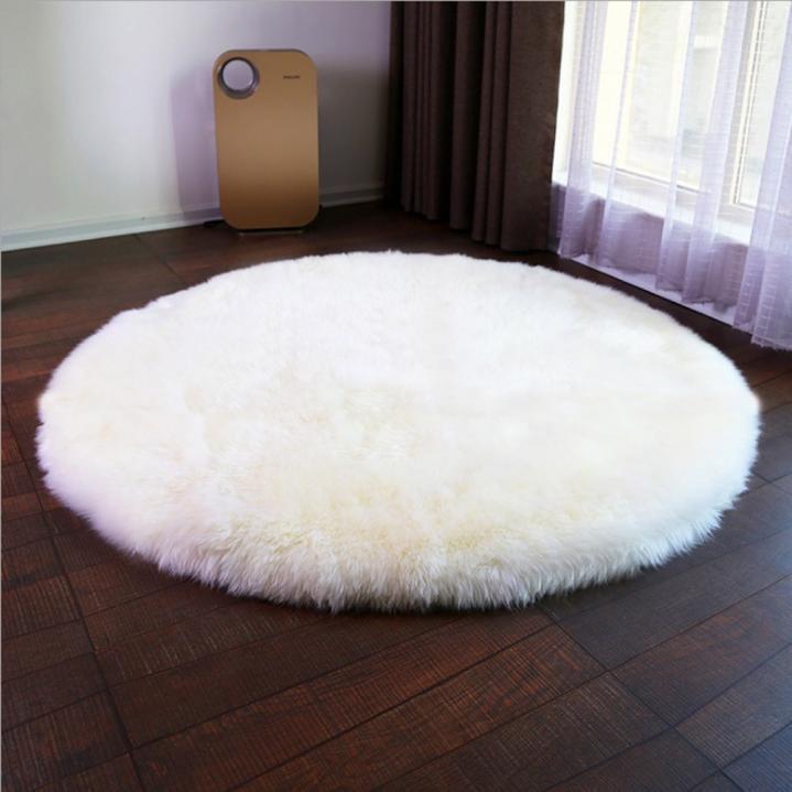morbido artificiale tappeto di pelle pecora federa della sedia lana caldo PELOSO