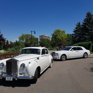 Rolls Royce Bentley limo wedding rental