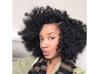 Crochet braids, twists and box braids