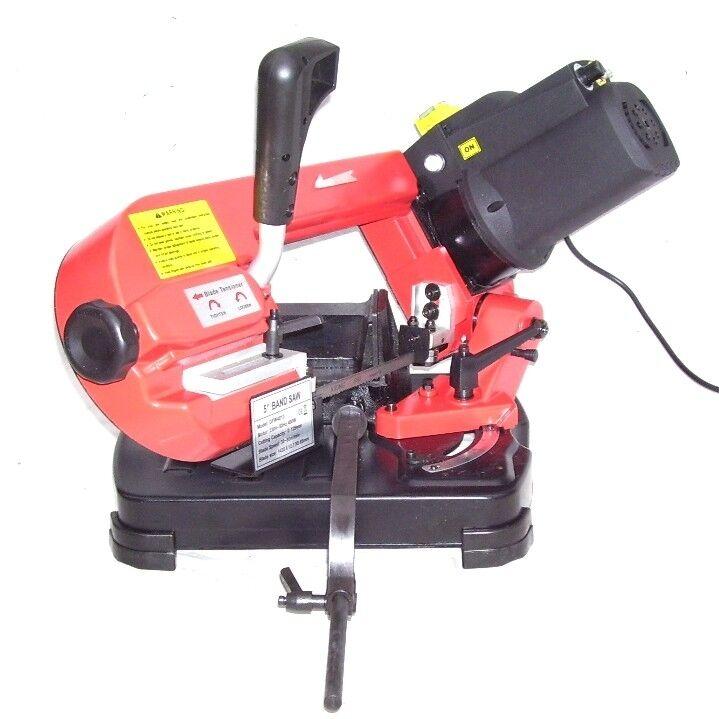 55494 sierra de cinta para metal 125mm motor 230v 230 volt - Sierra cinta metal ...