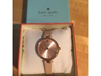 Gorgeous Kate Spade Nude/Rose Gold SKINNY STRAP WATCH