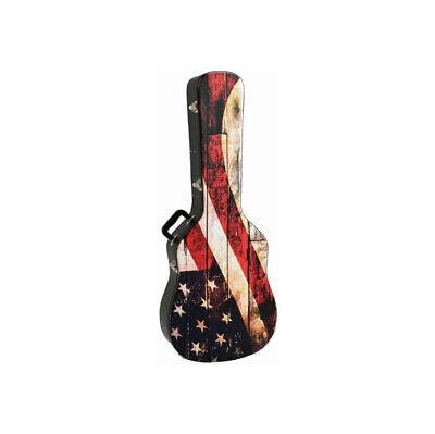 Kaces Grafix Hardshell Acoustic Guitar Case Old Glory