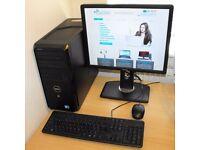 Quad Core Windows 10 PC Complete Dell Vostro 230 2.66GHz 4GB RAM NVIDIA 1GB Graphics