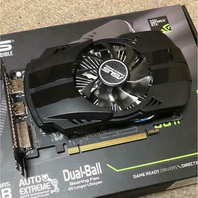 ASUS NVIDIA GeForce GTX1050TI-based video card overclocking PH-GTX1050TI-4G Nvidia Overclock Video Cards