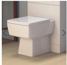 Premier - Bliss back to Wall pan / toilet with soft close seat