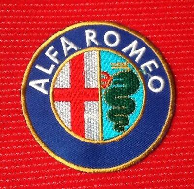 Alfa Romeo Coche Spider Motor Deportes Carreras INSIGNIA Iron Parche para coser