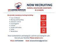 CARE WORKERS URGENTLY NEEDED