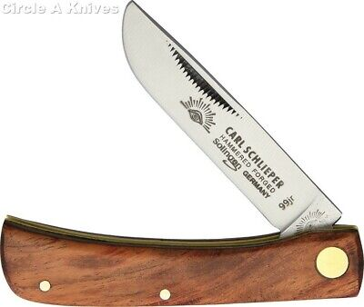 GERMAN EYE BRAND CUTLERY KNIFE- #GE99JR CLODBUSTER -WOOD HANDLE- GERMAN MADE