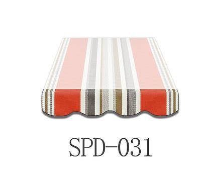 Volant Markisen Markisenbespannung Ersatzstoff Markise 3 m Neu NUR VOLANT SPD031